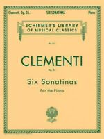 Six Sonatinas for the Piano : Op. 36, Paperback by Clementi, Muzio (COP); Koe...
