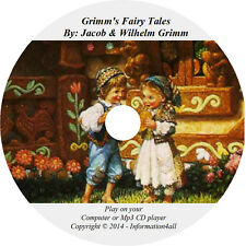 Grimm's Fairy Tales – Grim Brothers Folklore Mp3 Audio Book CD