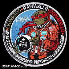 "NASA STS-135 Shuttle Mission MFSC MPLM - RAFFAELLO - ISS MODULE 5"" SPACE PATCH"