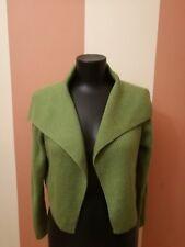 women cardigan (bolero) Eileen Fisher 100 % merino wool  size S italian yarn