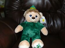 BUILD A BEAR BUDDY THE ELF Christmas Movie Stuffed Plush Teddy Will Ferrell