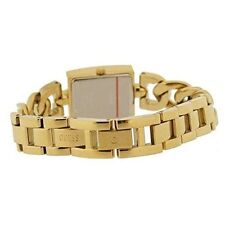 GUESS Gold Plated Band Analogue Wristwatches