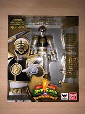 S.H. Figuarts White Ranger Mighty Morphin? Power Rangers Bandai Tamashii RARE