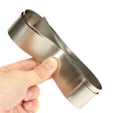 High Purity Silver Gray Pure Nickel Ni Metal Foil Plate Thin Sheet 0.1x30x1000mm