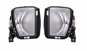 FIT FOR 2013 2014 2015 DODGE RAM 1500 FOG LIGHT LAMP LEFT & RIGHT PAIR 2PCS
