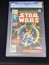 Marvel 1977 Star Wars #1 35 Cent Variant CGC 9.0 White Pages RARE Grail