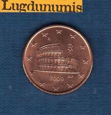 Italie 2009 - 5 centimes d'Euro - Pièce neuve de rouleau - Italia