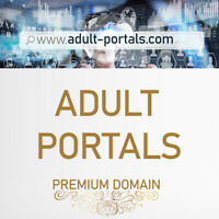adult-portals.com Premium .COM Domain for Adult Portal