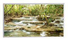 600W Infrarotheizung Wasserfall Thermostat Elektroheizung Überhitzungsschutz TÜV
