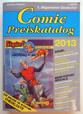 COMIC PREISKATALOG 2013 - TOP!