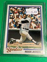 🔥 1978 TOPPS Baseball Card Set #200 🔥 NEW YORK YANKEES🔥 REGGIE JACKSON