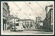 Venezia Mestre Filobus foto cartolina QK2938