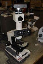 OLYMPUS BH-2 MICROSCOPE BH-2 WITH 10X/20L EYE PIECES CAMERA