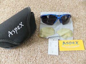 Aspex Arctic Sunglasses Polarised UV400 Golf Skiing Cycling
