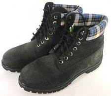 TIMBERLAND Men's Dark Green Suede Lace Up Ankle Boots Size 11M (Read Desc)