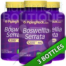Boswellia Serrata 1200 mg 3X120 Capsules by Piping Rock