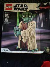 LEGO Star Wars TM YODA (75255). DAMAGED AND OPENED BOX