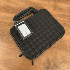 "CARRYING CASE for iPad 1,2,3,4 or iPad 9.7"" Size 8 x 10"" Cushioned BLACK"