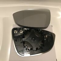 left passenger heated wide angle mirror glass Honda Civic Mk8 2006-2011 89LASH