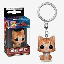 Funko Pocket Pop Keychain Captain Marvel: Goose the Cat Bobble-Head #36440