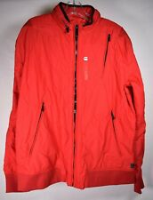 G-Star Raw Mens Coat Hooded Red Jacket 2XL