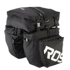 37L Roswheel Bike Bag Waterproof Rear Rack Bicycle Folding Dual Bicycle Pannier
