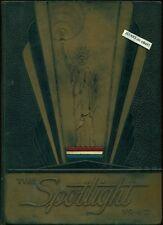 1942 ELIZABETH CITY HIGH SCHOOL YEARBOOK, THE SPOTLIGHT, ELIZABETH CITY, NC