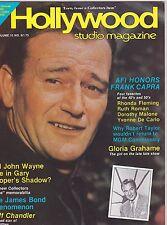 MAY 1982 HOLLYWOOD STUDIO vintage movie magazine - JOHN WAYNE - FRANK CAPRA