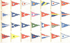Custom Yacht Club Boat Ship Regatta Marina Event Pennant Flag Burgee Cruise Race