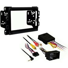 METRA 95-6518B DOUBLE DIN STEREO DASH KIT FOR 2013 DODGE RAM + INTERFACE