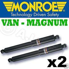 2x Monroe Magnum Front shocks Iveco Daily Bus S2000 - 40 C/50 C-à partir de 1999