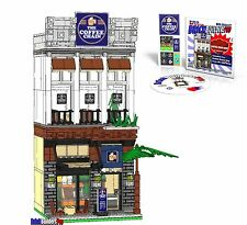 CD Custom The Coffee Chain Instructions, Lego minifigure city town modular #35