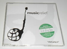 MUSIC RELIEF - WHAT'S GOING ON - 1994 UK 6 TRACK CD SINGLE WITH PROMO STICKER
