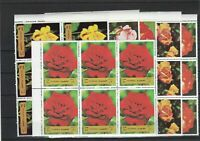 Fujeira Roses Species Mint Never Hinged Stamps Blocks Ref 27805