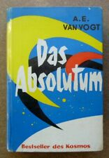 Science Fiction-Leihbuch:  A.E. Van Vogt  /  Das Absolutum   (Z 2)