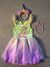 **Fluttershy** My Little Pony • Fancy Dress • Girl Kids Costume Outfit • TU
