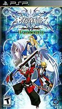 BlazBlue Calamity Trigger Portable - PSP Playstation Portable COMPLETE