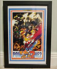 """Capcom Classic Naomi Serie Arcade Poster Set (vier) 12"""" x 18"""" Gr Jamma"""