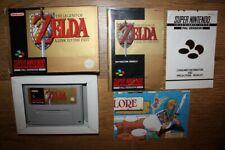 Zelda : A Link to the Past Super Nintendo SNES en boite complet