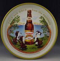 STEGMAIER BEER SERVING TRAY GOLD MEDAL WILKES BARRE POCONOS PA. 13''