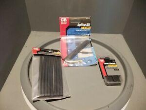 Variety Value Pack (3) Gardner Bender Heat Shrink Tubing, Splice Kit