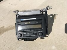 2012-Lexus-Ct 200h-Radio-Am-Fm-Sat-Cd Player W/ Telematics Tranceiver Module