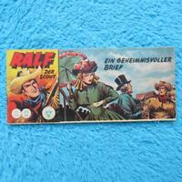 """RALF Nr 101  Der Scout  """"EIN GEHEIMNISVOLLER BRIEF"""" Piccolo Lehning 1961 Z1"""