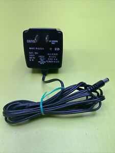 Vintage CASIO Electronics AC Power Supply Adapter 581B Ad 4160 8w 120v 6 VDC NEW