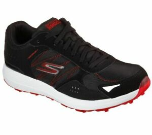 Skechers GO GOLF Max Lynx Golf Shoes Mens 214008 Black/Red - New 2021