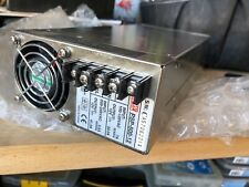 MEAN WELL POWER SUPPLY # PSP-500-12  115VAC--220VAC / 12VDC  33.2AMP OR 41.5AMPS
