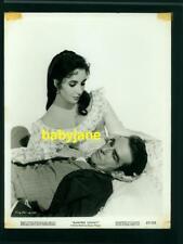 ELIZABETH TAYLOR MONTGOMERY CLIFT VINTAGE 8X10 PHOTO 1957 RAINTREE COUNTY