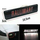 1Pcs JDM Ralliart LED Light Car Front Grille Badge Illuminated Decal Sticker