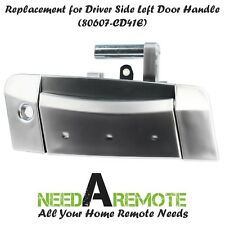 Fits 2003-2009 Nissan 350Z Left/Driver Outside Exterior Outer Silver Door Handle