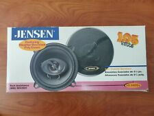 """Jensen 105W 5 1/4"""" Coaxial/Car Speakers XS-5421Cx  Weather-Resistant Poly Cones"""